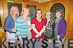 Race Goers - pictured here at the Ring of Kerry Hotel on Saturday night at the Aghatubrid NS Race Night Fundraiser were l-r; Emma Louise Benson, Niamh Quinlan, Deirdre McCarthy, Marion O'Neill & Maura O'Shea.