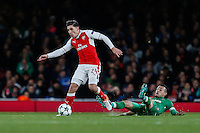 Hector Bellerin of Arsenal during the UEFA Champions League match between Arsenal and PFC Ludogorets Razgrad at the Emirates Stadium, London, England on 19 October 2016. Photo by David Horn / PRiME Media Images.