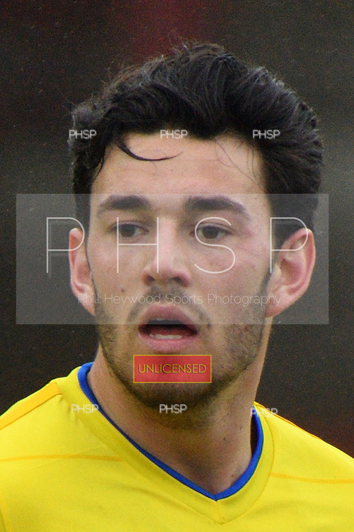 18/03/2017 Sky Bet League 1 Fleetwood Town v AFC Wimbledon<br /> <br /> Will Nightingale, AFC Wimbledon