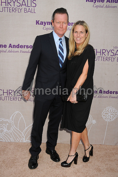 6 June 2015 - Los Angeles, California - Robert Patrick, Barbara Patrick. 14th Annual Chrysalis Butterfly Ball held at a Private Residence. Photo Credit: Byron Purvis/AdMedia