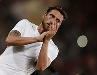Calcio, Serie A: Roma, stadio Olimpico, 14 maggio 2017.<br /> Juventus' Claudio Marchisio at the and of the Italian Serie A football match between AS Roma and Juventus at Rome's Olympic stadium, May 14, 2017.<br /> UPDATE IMAGES PRESS/Isabella Bonotto