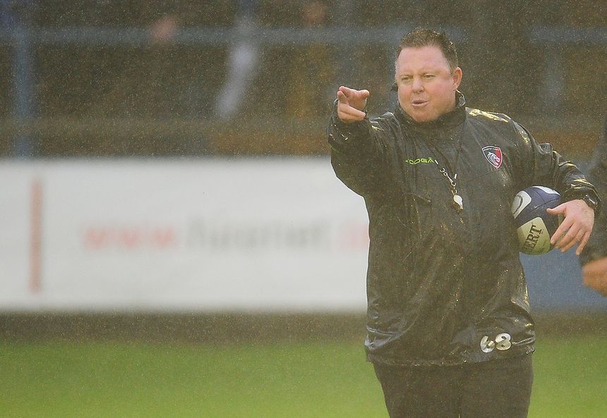 Leicester Tigers' Head Coach Matt O'Connor<br /> <br /> Photographer Kevin Barnes/CameraSport<br /> <br /> Rugby Union Friendly - Ospreys v Leicester Tigers - Friday 11th August 2017 - Brewery Field - Bridgend<br /> <br /> World Copyright &copy; 2017 CameraSport. All rights reserved. 43 Linden Ave. Countesthorpe. Leicester. England. LE8 5PG - Tel: +44 (0) 116 277 4147 - admin@camerasport.com - www.camerasport.com
