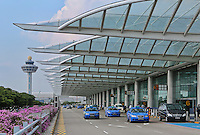 Changi airport, Terminal 1, Singapore, 13 August 2015.