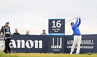 Merrick Bremner (RSA) on the 16th during Round 4 of the 2015 Alfred Dunhill Links Championship at the Old Course in St. Andrews in Scotland on 4/10/15.<br /> Picture: Thos Caffrey | Golffile