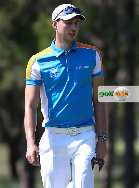 Matthew Nixon (ENG) during Round One of the 2016 Tshwane Open, played at the Pretoria Country Club, Waterkloof, Pretoria, South Africa.  11/02/2016. Picture: Golffile | David Lloyd<br /> <br /> All photos usage must carry mandatory copyright credit (&copy; Golffile | David Lloyd)