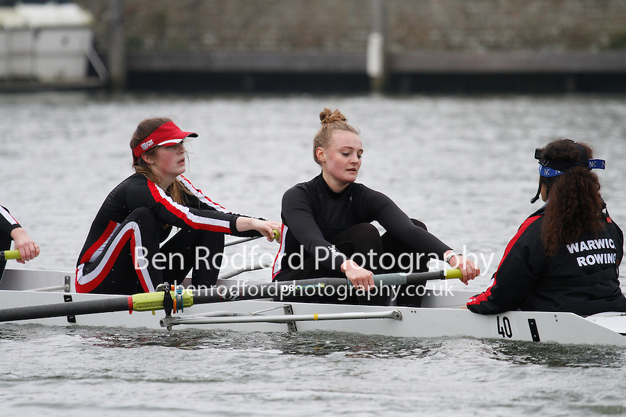 Crew: 40 - Warwick Univ  - W.IM3.8+ <br /> <br /> Henley Fours &amp; Eights Head 2017<br /> <br /> To purchase this photo, or to see pricing information for Prints and Downloads, click the blue 'Add to Cart' button at the top-right of the page.