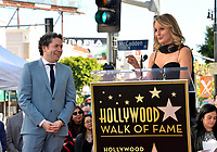 LOS ANGELES, CA. January 22, 2019: Gustavo Dudamel & Helen Hunt at ceremony where conductor Gustavo Dudamel received a star on the Hollywood Walk of Fame.<br /> Picture: Paul Smith/Featureflash