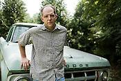 July 11, 2008. Hillsborough, NC..Tom Rankin, director of the Center for Documentary Studies at Duke University.