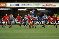 Matthew Morgan of Cardiff Blues in action during the Heineken Champions Cup match between Cardiff Blues and Saracens at Cardiff Arms Park in Cardiff, Wales. Saturday 15 December 2018