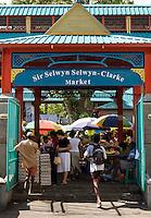 Seychelles, Island Mahe, capital Victoria: Sir Selwyn Selwyn-Clarke Market
