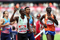Nijel Amos of Botswana wins the menís 800 metres during the Muller Anniversary Games at The London Stadium on 9th July 2017