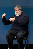 Montreal, CANADA, February 16, 2015,<br /> <br /> Apple Co-founder Steve Wozniak speak in Montreal<br /> <br /> Photo : Agence Quebec Presse