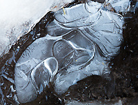 Ice abstract, South Colony Lakes trail