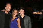 AMC's Walt Willey, Denise Vasi and Daniel Kennedy at the ABC Daytime Casino Night on October 23, 2008 at Guastavinos, New York CIty, New York. (Photo by Sue Coflin/Max Photos)