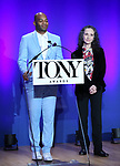 Brandon Victor Dixon and Bebe Neuwirth during The 73rd Annual Tony Awards Nominations Announcement on April 30, 2019 in New York City.
