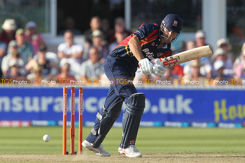 Alastair Cook in batting action for Essex - Somerset Sabres vs Essex Eagles - Friends Life T20 Quarter-Final Cricket at the County Ground, Taunton - 24/07/12 - MANDATORY CREDIT: Gavin Ellis/TGSPHOTO - Self billing applies where appropriate - 0845 094 6026 - contact@tgsphoto.co.uk - NO UNPAID USE.