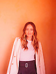 Actress Olivia Wilde is in the new HBO series Vinyl. She poses for a portrait at The Langham Hotel in Pasadena, California January 7, 2016. <br /> <br /> Photo by Brinson+Banks