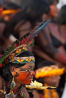 X JOGOS DOS POVOS INDÍGENAS <br /> <br /> Guereiro Pataxó da Bahia.<br /> <br /> Os Jogos dos Povos Indígenas (JPI) chegam a sua décima edição. Neste ano 2009, que acontecem entre os dias 31 de outubro e 07 de novembro. A data escolhida obedece ao calendário lunar indígena. com participação  cerca de 1300 indígenas, de aproximadamente 35 etnias, vindas de todas as regiões brasileiras. <br /> Paragominas , Pará, Brasil.<br /> Foto Paulo Santos<br /> 03/11/2009