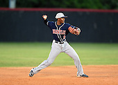 Lake Brantley Patriots Harrison Ray (09) during a game against the Lake Mary Rams on April 2, 2015 at Allen Tuttle Field in Lake Mary, Florida.  Lake Brantley defeated Lake Mary 10-5.  (Mike Janes Photography)