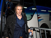 Wycombe Wanderers Manager Gareth Ainsworth arrives during the Checkatrade Trophy round two Southern Section match between Millwall and Wycombe Wanderers at The Den, London, England on the 7th December 2016. Photo by Liam McAvoy.