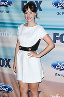 SANTA MONICA, CA, USA - SEPTEMBER 08: Actress Zooey Deschanel arrives at the 2014 FOX Fall Eco-Casino Party held at The Bungalow on September 8, 2014 in Santa Monica, California, United States. (Photo by Xavier Collin/Celebrity Monitor)