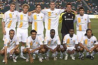 LA Galaxy starting XI. The LA Galaxy defeated the New York Red Bulls 3-1 in OT during a US Open Cup qualifier at the Home Depot Center in Carson, California, May 8, 2007.