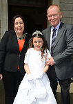 St Bridgets First communion 2014