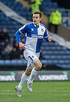 Tom Lockyer of Bristol Rovers in action during the Sky Bet League 2 match between Oxford United and Bristol Rovers at the Kassam Stadium, Oxford, England on 17 January 2016. Photo by Andy Rowland / PRiME Media Images.