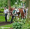 Maracuya before The Delaware Oaks (gr 2) at Delaware Park on 7/13/13