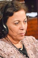 RIO DE JANEIRO-15/06/2012-Ideli Salvati, Ministra na Secretaria de Relacoes Institucionais, representando a Presidenta e  na abertura da I Cupula Mundial de Legisladores, na ALERJ, centro do Rio.Foto:Marcelo Fonseca-Brazil Photo Press