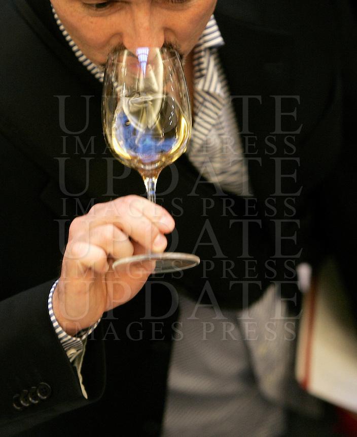 Ultima giornata del Roma Wine Festival, 2 marzo 2008..UPDATE IMAGES PRESS/Riccardo De Luca