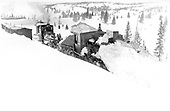 Flanger turn on the loop has derailed.<br /> D&amp;RG  Cumbres, CO  Taken by Lively, Charles R. - circa 1915