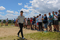Zach Johnson (USA) approaches the 7th tee during Sunday's round 4 of the 117th U.S. Open, at Erin Hills, Erin, Wisconsin. 6/18/2017.<br /> Picture: Golffile | Ken Murray<br /> <br /> <br /> All photo usage must carry mandatory copyright credit (&copy; Golffile | Ken Murray)