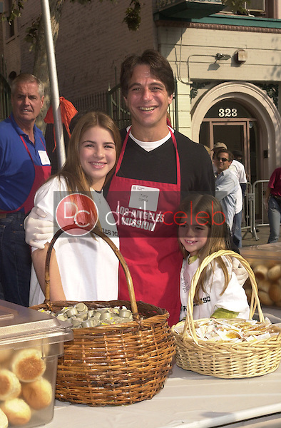 Tony Danza and daughters