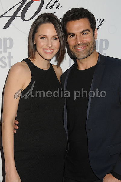 24 February 2016 - Hollywood, California - Kaitlin Vilasuso, Jordi Vilasuso. Soap Opera Digest's 40th Anniversary Event held at The Argyle Hollywood. Photo Credit: Byron Purvis/AdMedia