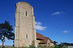 ATBJA7 All Saints Ramsholt church Suffolk England