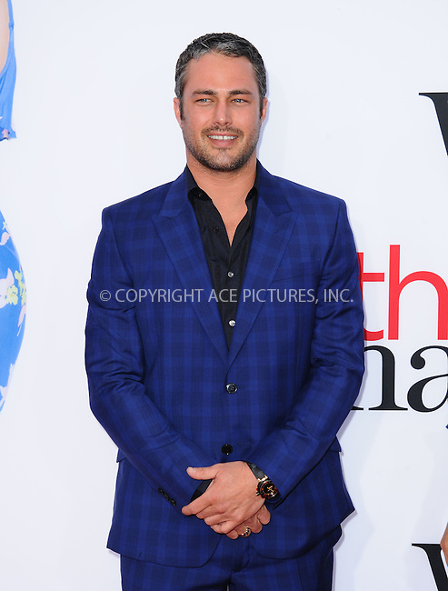 WWW.ACEPIXS.COM<br /> <br /> April 21 2014, LA<br /> <br /> Taylor Kinney arriving at the 'The Other Woman' - Los Angeles Premiere at the Regency Village Theatre on April 21, 2014 in Westwood, California.<br /> <br /> <br /> By Line: Peter West/ACE Pictures<br /> <br /> <br /> ACE Pictures, Inc.<br /> tel: 646 769 0430<br /> Email: info@acepixs.com<br /> www.acepixs.com