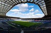 8th February 2020; Murrayfield Stadium, Edinburgh, Scotland; International Six Nations Rugby, Scotland versus England; General view of Murrayfield before kick off