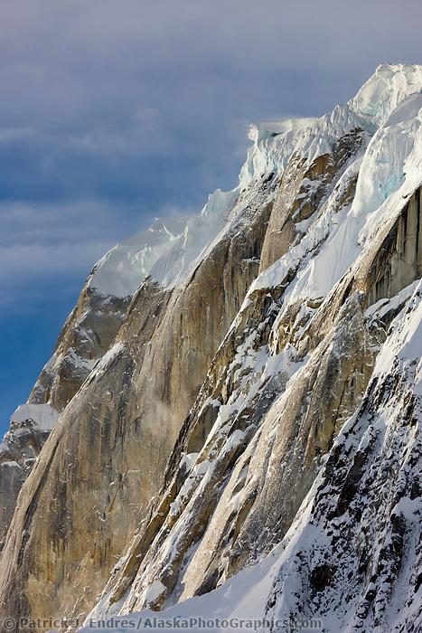 Mount Dickey in the Alaska Range, Interior, Alaska.