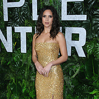 "03 March 2019 - New York, New York - Adria Arjona. The World Premiere of ""Triple Frontier"" at Jazz at Lincoln Center. Photo Credit: LJ Fotos/AdMedia"
