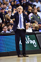 Washington, DC - MAR 11, 2018: Rhode Island Rams head coach Dan Hurley on the sideline during the Atlantic 10 men's basketball championship between Davidson and Rhode Island at the Capital One Arena in Washington, DC. (Photo by Phil Peters/Media Images International)