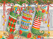 Ingrid, CHRISTMAS SYMBOLS, WEIHNACHTEN SYMBOLE, NAVIDAD SÍMBOLOS,christmas stockings, paintings+++++,USISMC47ST,#xx#