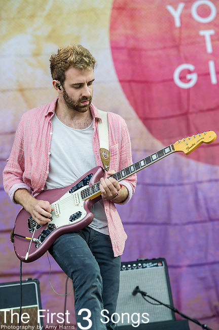 Jacob Tilley of Young the Giant performs at the Outside Lands Music & Art Festival at Golden Gate Park in San Francisco, California.