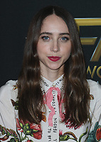 BEVERLY HILLS - NOVEMBER 5:  Zoe Kazan at the 2017 Hollywood Film Awards at the Beverly Hilton on November 5, 2017 in Beverly Hills, California. (Photo by Scott Kirkland/PictureGroup)