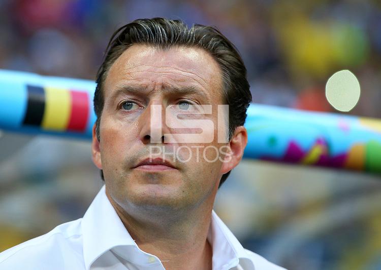 Belgium coach Marc Wilmots
