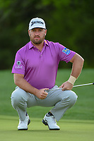 Graeme McDowell (NIR) looks over his putt on 10 during day 2 of the Valero Texas Open, at the TPC San Antonio Oaks Course, San Antonio, Texas, USA. 4/5/2019.<br /> Picture: Golffile | Ken Murray<br /> <br /> <br /> All photo usage must carry mandatory copyright credit (&copy; Golffile | Ken Murray)
