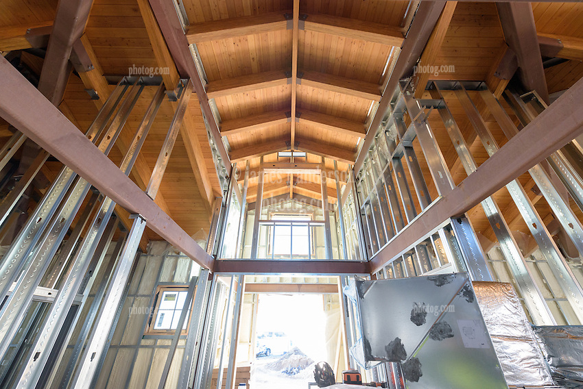Meigs Point Nature Center at Hammonasset Beach State Park  <br /> Connecticut State Project No: BI-T-601<br /> Architect: Northeast Collaborative Architects  Contractor: Secondino & Son<br /> James R Anderson Photography New Haven CT photog.com<br /> Date of Photograph: 4 December 2015<br /> Camera View: 21