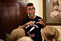 Artist Dread Scott speaks at the McKenna African American Museum about the 1811 Slave Revolt that he will re-enact.
