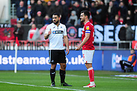 Cameron Carter-Vickers of Swansea City in action during the Sky Bet Championship match between Bristol City and Swansea City at Ashton Gate in Bristol, England, UK. Monday 02 February 2019