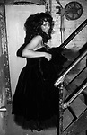 Donna Summer on January15, 1983 at the Savoy Theater in New York City.